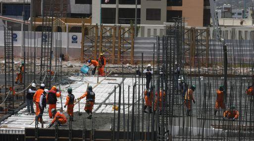 La construcción volvió a ser el sector de más dinamismo. (Foto: USI)