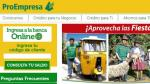 La SBS autorizó conversión de Edpyme Proempresa en financiera - Noticias de wilber dongo