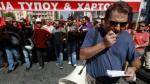 Grecia: Disturbios en reclamo masivo contra austeridad - Noticias de molotov