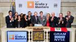 GyM emitió acciones en Wall Street por US$ 412.7 millones - Noticias de eje vial javier prado