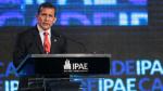 """Ollanta Humala clausura la CADE: """"Tenemos la oportunidad: hay que aprovecharla y protegerla"""" - Noticias de david reyes enviado"""