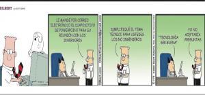 Dilbert 23 de Mayo de 2014