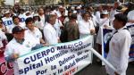 Minsa declara improcedente huelga indefinida convocada por gremios de profesionales de la salud - Noticias de federación médica del perú