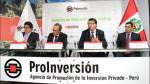 ProInversión adjudicó proyectos por US$ 5,794 millones y otorgará tres en junio - Noticias de javier illescas director