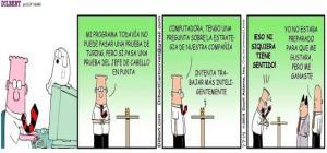 Dilbert 17 de Julio de 2014