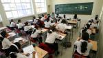 Oferta de educación primaria y secundaria privada en Lima supera en 300% a la pública - Noticias de lima metropolitana