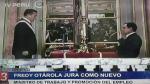 Nacionalista Fredy Otárola juramenta como ministro de Trabajo y Promoción del Empleo - Noticias de premier cornejo