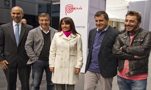 Ministra Magali Silva acompañó a los hermanos Roca en el inicio de su gira por el Perú