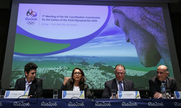 Río de Janeiro pasa revisión del Comité Olímpico Internacional