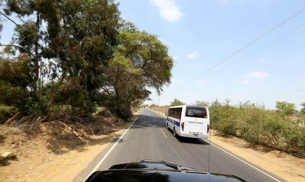 Concluyeron obras de mejoramiento de la carretera en el tramo Piura-La Obrilla