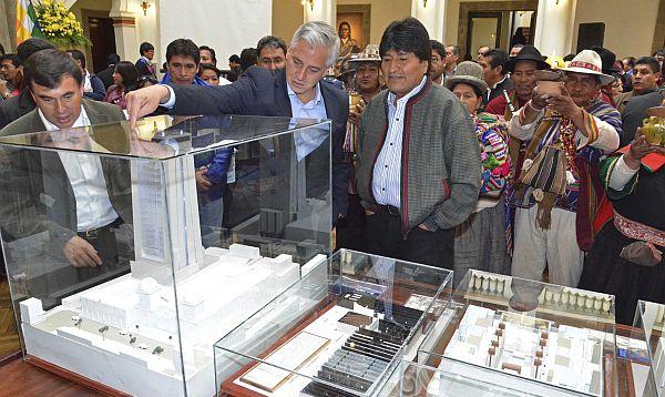Bolivia destina US$ 36 mlls. para construcción de nuevo palacio presidencial