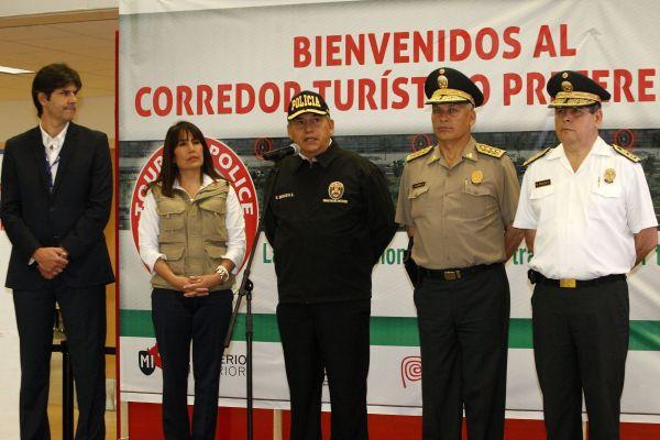 Ministerios de Turismo y del Interior presentaron corredor de seguridad ciudadana para Turistas