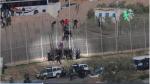 La valla que separa Europa y África - Noticias de muere ahogado