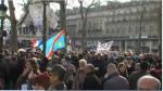 El duelo se demuestra en las calles de París - Noticias de john berlin