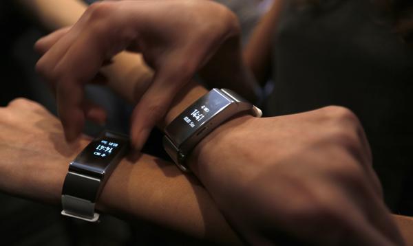 La nueva pulseraTalkBand B2 de Huawei