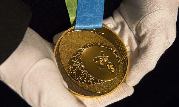 Presentan las medallas de los Juegos Panamericanos Toronto 2015