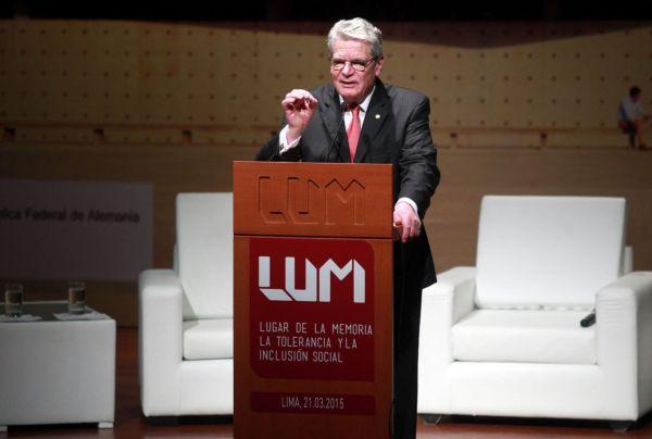 Presidente de Alemania visitó el Lugar de la Memoria de Perú - Noticias de