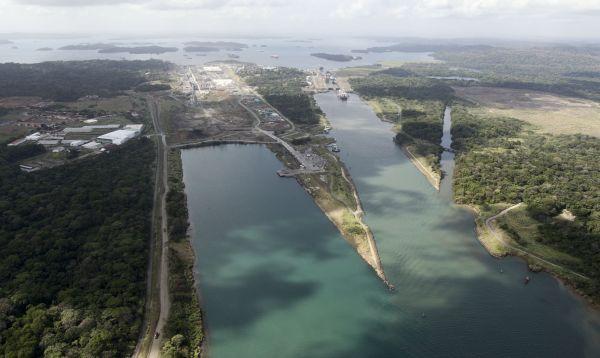 Avances en ampliación del Canal de Panamá se muestran junto a esclusas de Gatún - Noticias de