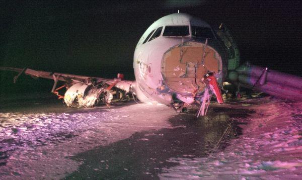 """Airbus de Air Canadá sufre """"brusco"""" aterrizaje por mal tiempo - Noticias de accidentes aéreos"""