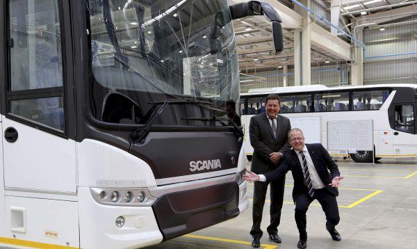 Scania abre planta para fabricar autobuses en la India y exportar al Asia