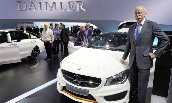 Daimler celebra se reunión general anual en Berlín - Noticias de dieter zetsche