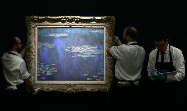 Sotheby's se prepara para próxima subasta de arte impresionista y moderno en Londres - Noticias de claude monet
