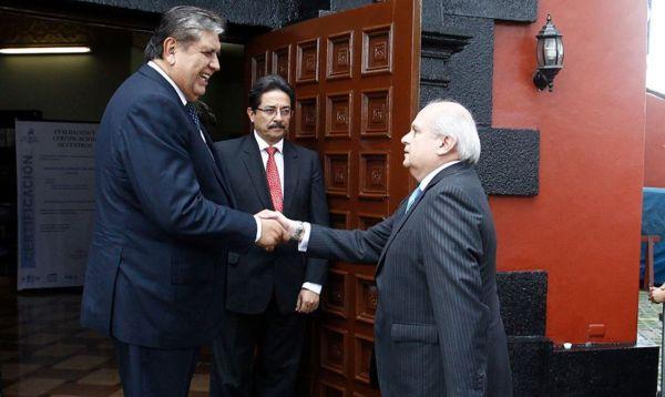 Alan García y Pedro Cateriano, los enemigos políticos que se reunieron hoy - Noticias de congreso de la republica