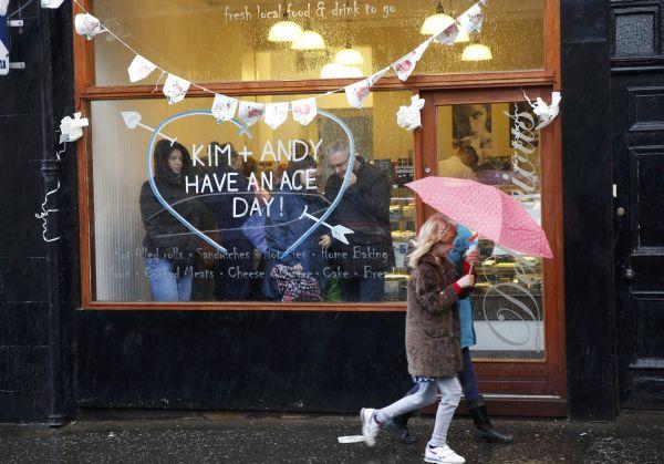 Escocia se paraliza por el matrimonio del tenista Andy Murray y Kim Sears - Noticias de andy kim