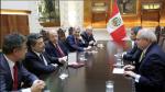 Pedro Cateriano recibió a la delegación de diputados españoles - Noticias de jorge gil