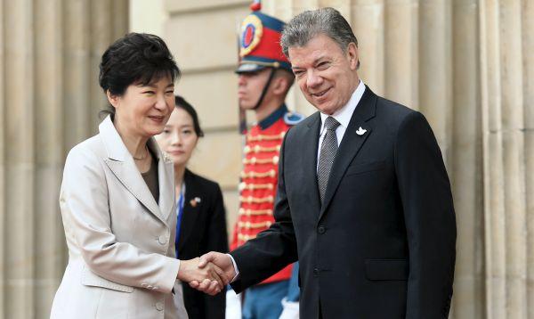 Presidenta de Corea visita Colombia un día antes de llegar al Perú en visita de Estado - Noticias de park geun-hye