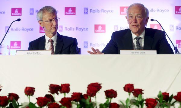Rolls-Royce gana orden de Emirates por US$ 9,200 millones para suministrar motores para aviones - Noticias de tim clark