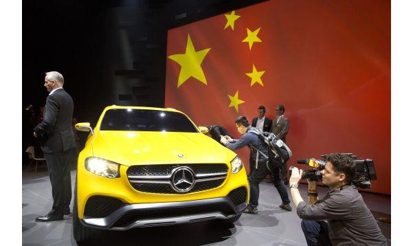 China prepara su mayor feria de automóviles