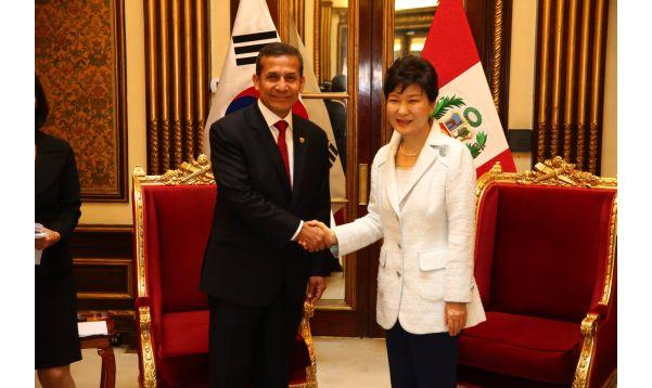 Presidenta de Corea culminó visita oficial al Perú - Noticias de park geun-hye