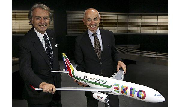 Alitalia lanzó su vuelo entre Milán y Shanghái sin escalas - Noticias de luca cordero di montezemolo