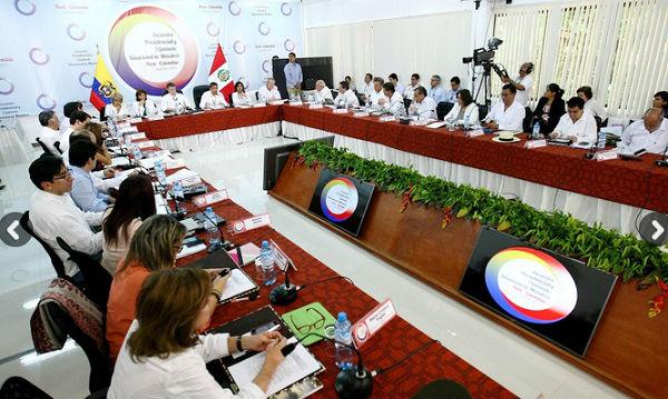 El II Gabinete Binacional Perú-Colombia se realizará en octubre en Leticia - Noticias de desarrollo económico