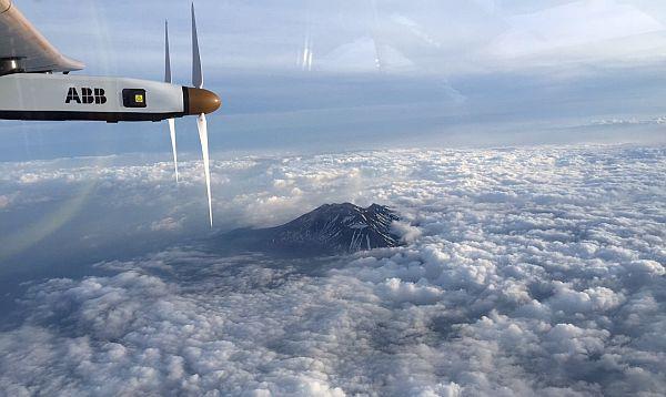 Avión solar aterriza en Japón por mal tiempo - Noticias de nagoya