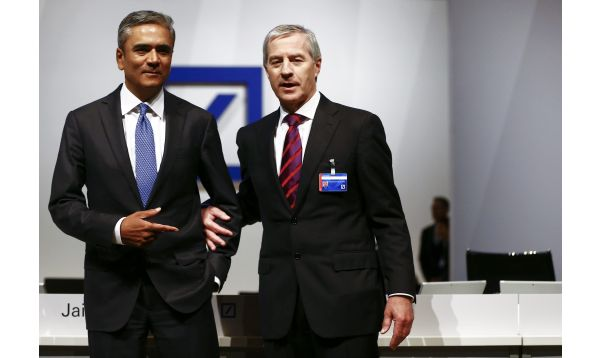 Deutsche Bank: Renuncian directores generales del banco alemán envuelto en problemas - Noticias de john berlin