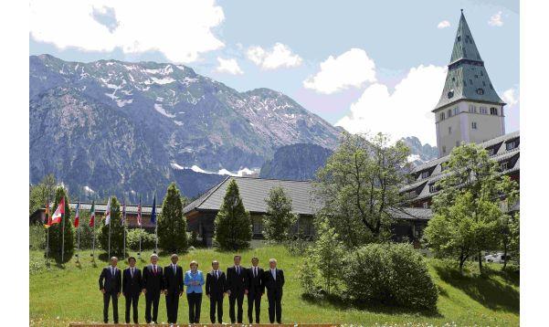 G7 se reúne en Alemania para tratar crisis griega y sanciones a Rusia - Noticias de stephen harper
