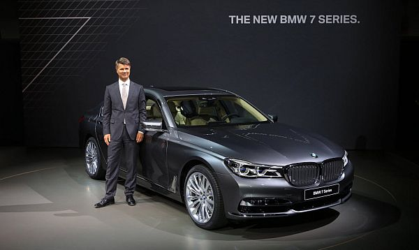 BMW presenta su nuevo sedán 7- Series - Noticias de autos nuevos