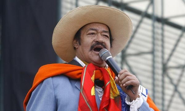 """Recuerdan fallecimiento del """"Indio Mayta"""", icono del folclor andino - Noticias de matarina"""