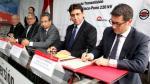 MEM firma contrato de concesión de Línea de Transmisión Azángaro-Juliaca-Puno - Noticias de sierra peruana