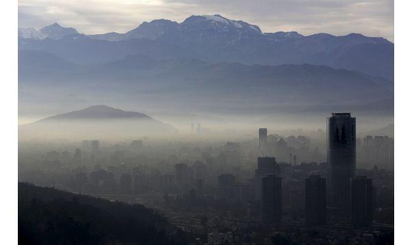 Santiago de Chile afronta grave contaminación del aire - Noticias de contaminación del aire
