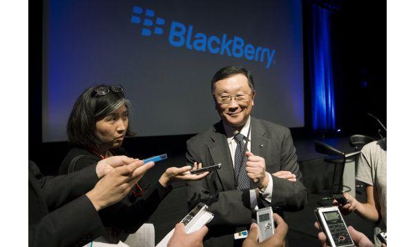 BlackBerry reporta alza de ingresos en negocio de software en el primer trimestre - Noticias de john chen