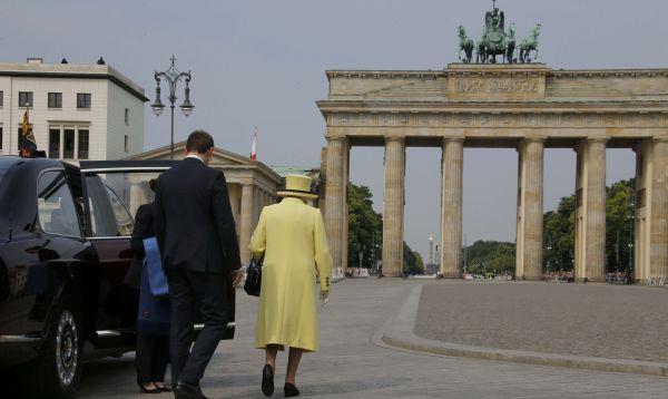 Reina Isabel II visitó Alemania por quinta vez y pidió evitar el riesgo de división en Europa - Noticias de alemania