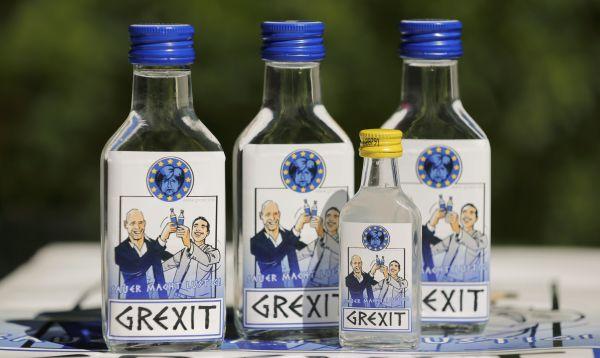 """Empresario alemán busca patentar su vodka """"Grexit"""" en alusión a crisis en Grecia - Noticias de uwe mitzscherlich"""
