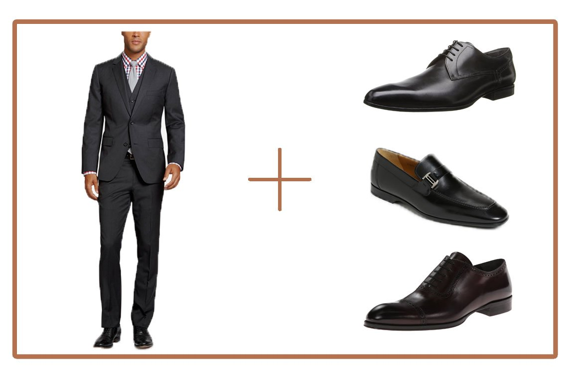 What Color Shoe To Wear With Charcoal Pants