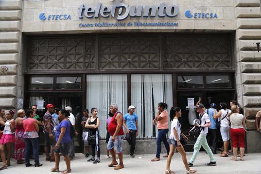 Red wi-fi pública, nuevo servicio que atrae a los cubanos