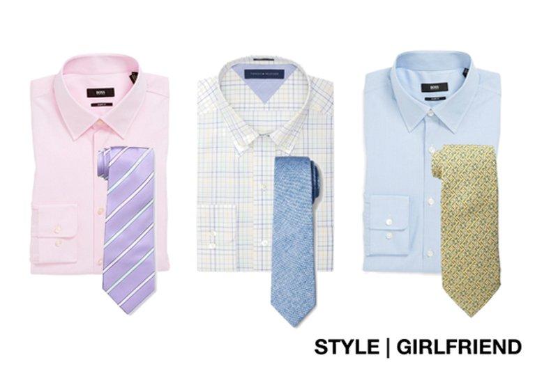 Moda masculina  Claves para combinar camisas y corbatas  272f07893cc