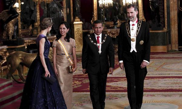 Presidente Humala se reunió con los reyes de España - Noticias de españa