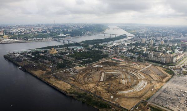 Rusia construye nuevo estadio en Nizhny Novgorod para Mundial de Fútbol 2018 - Noticias de rusia 2018